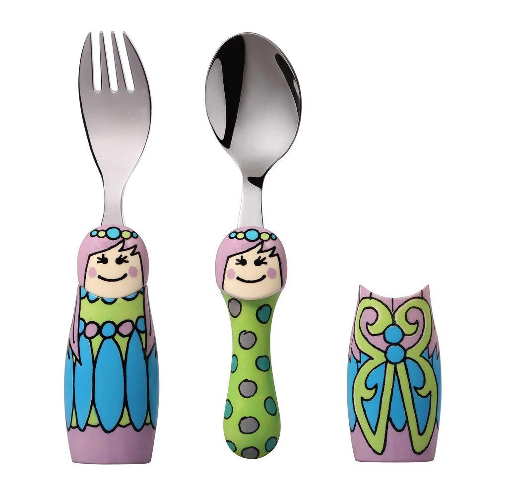 Europe EAT4FUN Duo Fairy Princess Cutlery