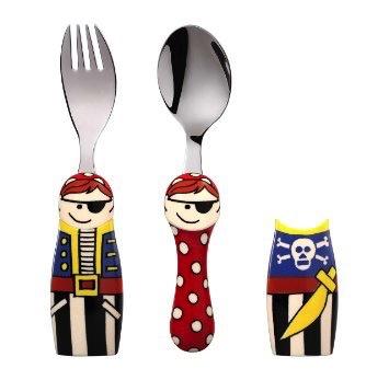 Europe EAT4FUN Duo Pirate Cutlery Gift Set
