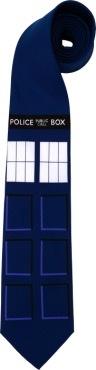Australia Dr Who-TARDIS Necktie