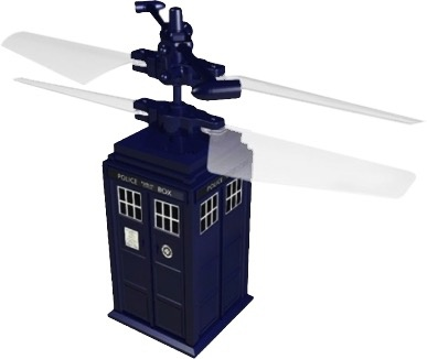 Australia Dr Who - TARDIS Remote Control Flying
