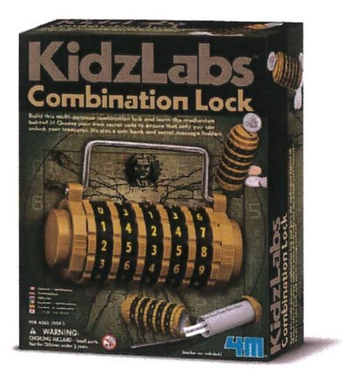 Australia K.L.:COMBINATION LOCK