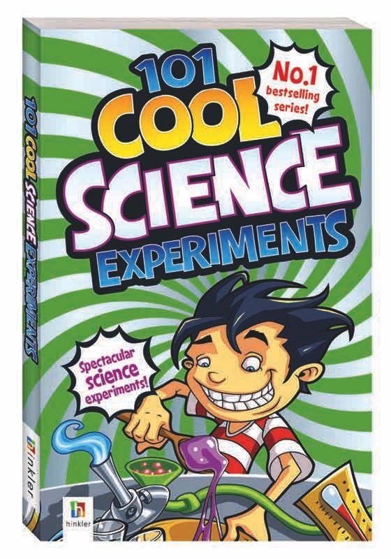Australia 101 COOL SCIENCE EXPERIMENTS