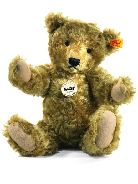 Europe Classic 1920 Teddy Bear, Light Brown