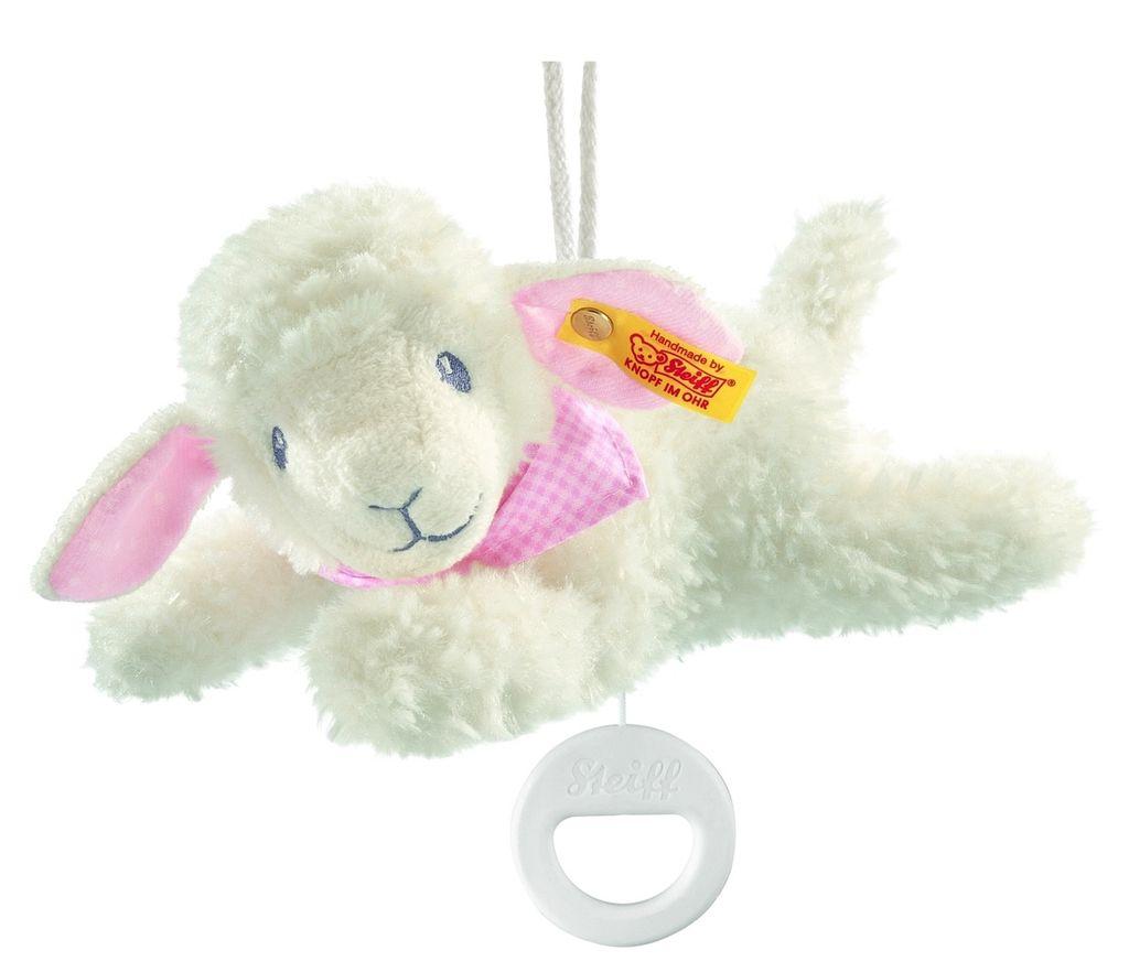 Europe Sweet Dreams Lamb Music Box, Pink