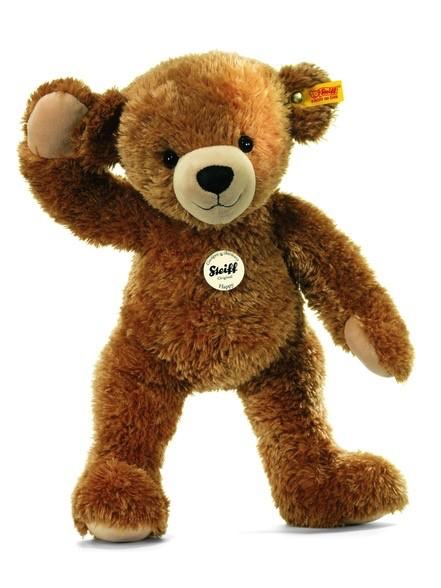 Europe Happy Teddy Bear, Light Brown