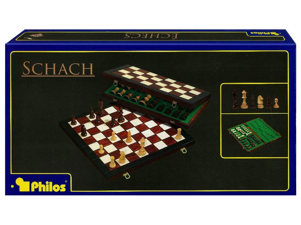 Australia CHESS SET 40CM FOLDING PHILOS