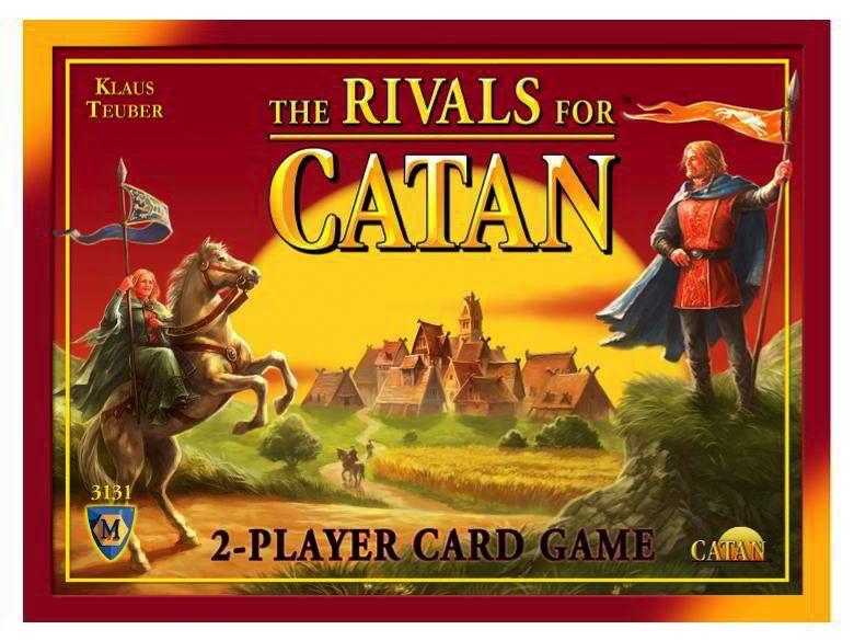 Australia CATAN, RIVALS FOR, CARD GAME