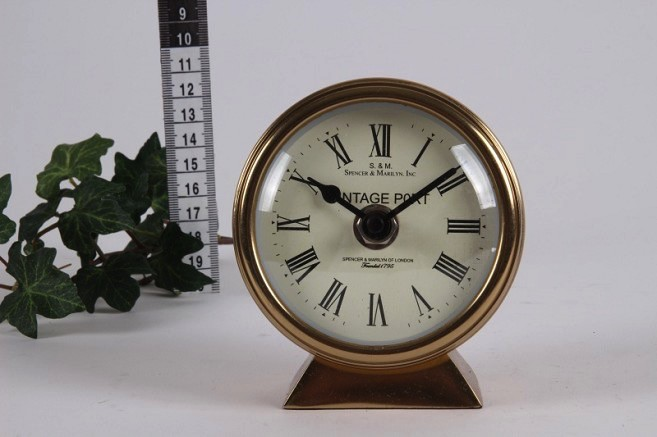 Europe Clock Table h. 10x9x4 cm
