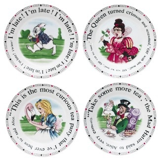 "Australia ALICE 7.5"" DESSERT PLATE - EACH (NO BOX AS SOLD SEPARATELY)"