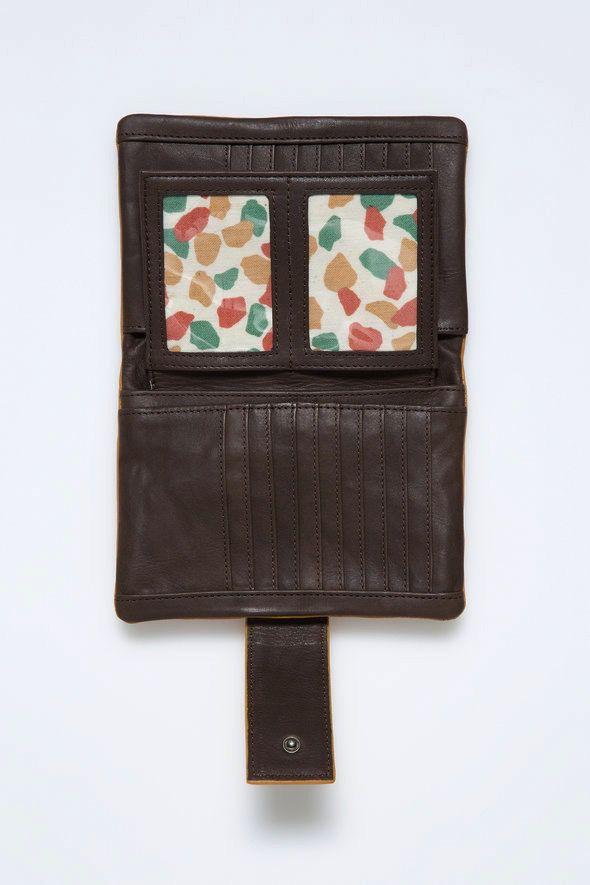 Australia Nancybird Mustard Bedford Wallet RRP$189