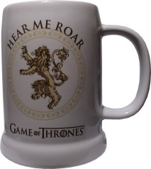 Australia Game of Thrones - Lannister Ceramic Stein