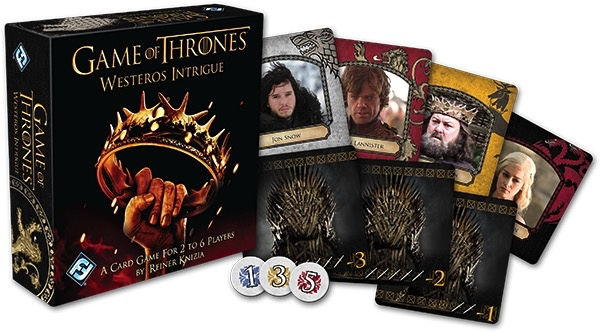 Australia Game of Thrones - Westerns Intrigue Card Game