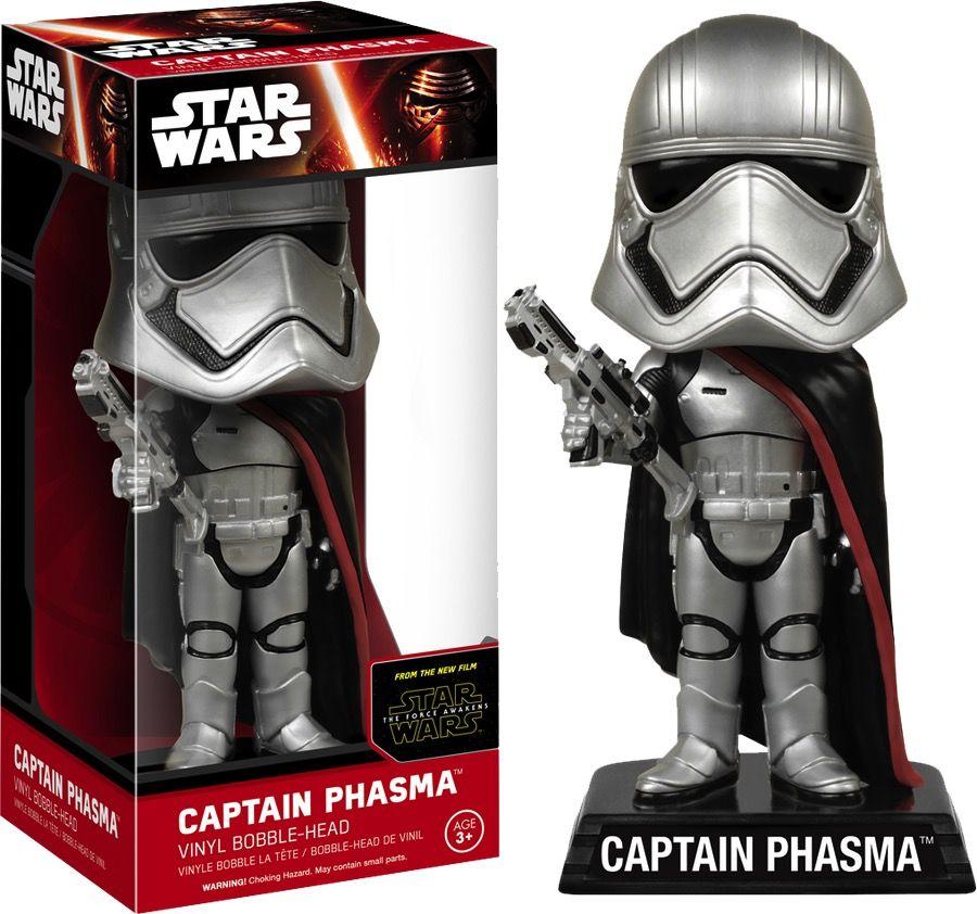 Australia Star Wars - Captain Phasma Ep 7 Wacky Wobbler