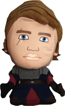Australia Star Wars - Clone Wars Anakin Deformed Plush