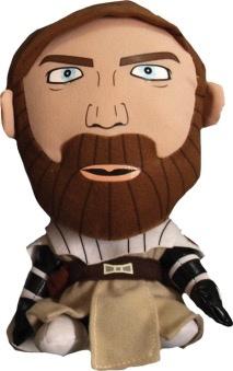 Australia Star Wars - Clone Wars Obi-Wan Deformed Plush