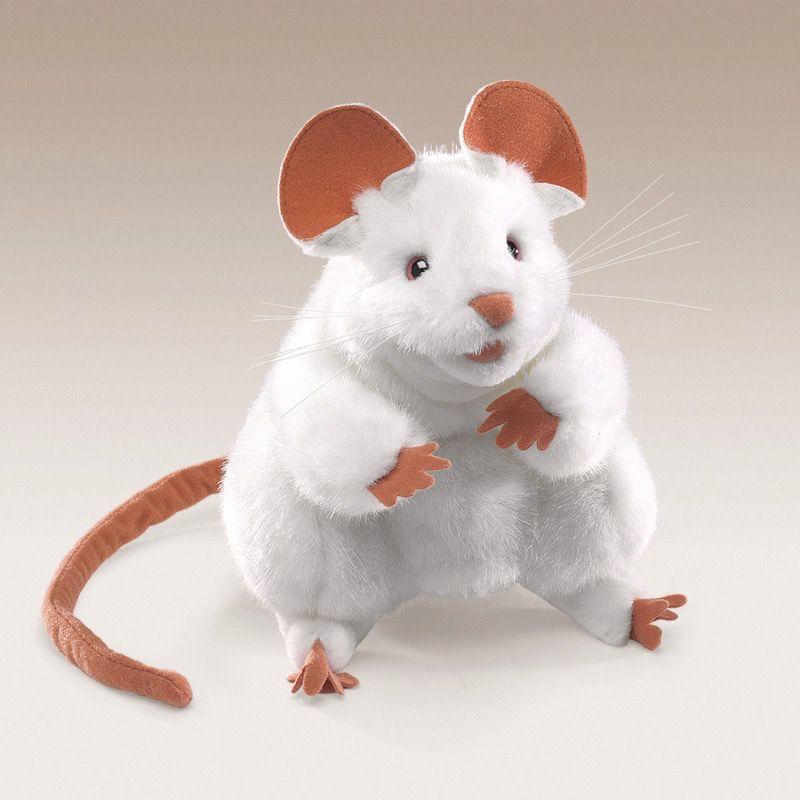 Australia White Mouse Hand Puppet