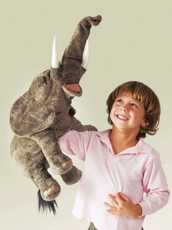 Australia Elephant Puppet