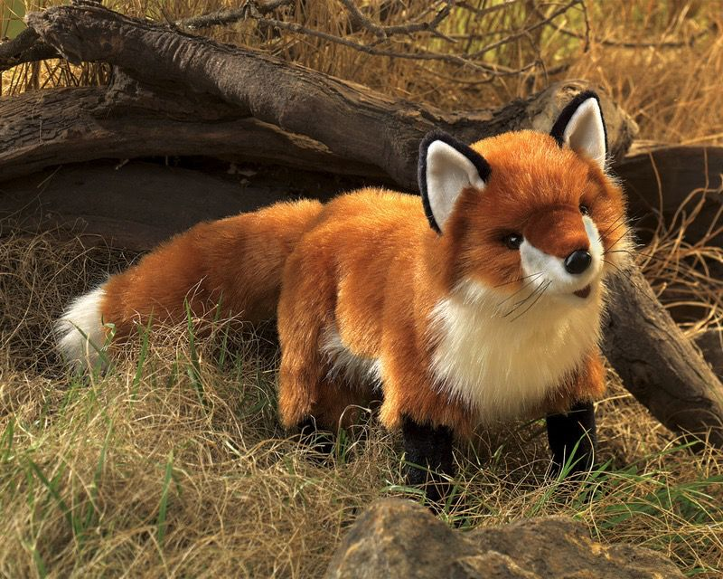 Australia Red Fox Puppet