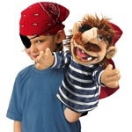 Australia Pirate Stage Puppet