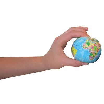 Australia Earth Stress Ball 75mm