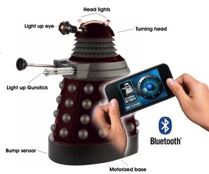Australia Dr Who - Smartphone Operated Dalek
