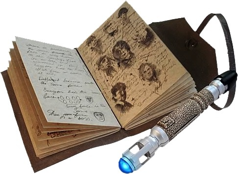 Australia Dr Who - Journal & Mini Sonic Screwdriver