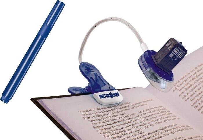 Australia Dr Who - TARDIS Booklight with Magic UV Pen