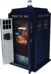 Australia Dr Who - TARDIS Talking Money Bank