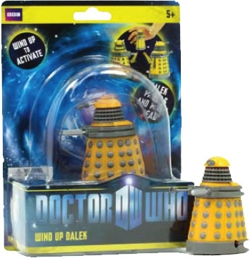 Australia Dr Who - Wind Up Eternal Dalek (Yellow)