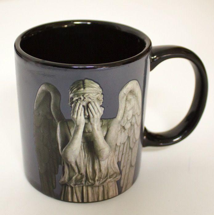 Australia Dr Who - Weeping Angel Heat Changing Mug