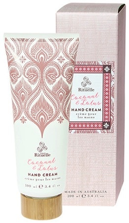 Australia DW 100ml Hand Cream Coconut & Lotus