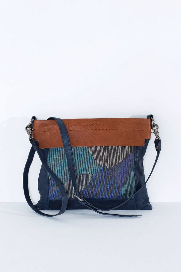 Australia Nancybird Midnight Blue Jean Bag RRP$260