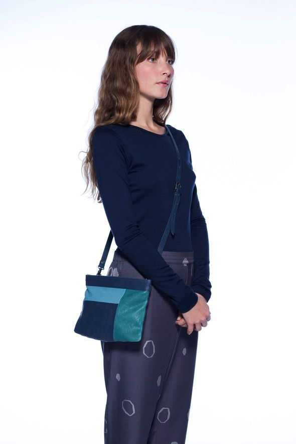 Australia Nancybird Midnight Blue Dahlia Bag RRP$199