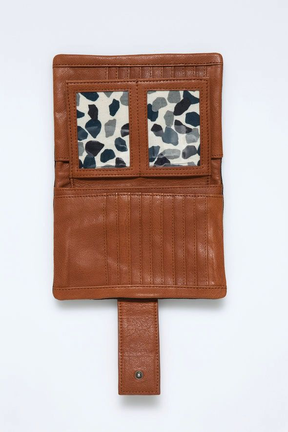 Australia Nancybird Black Bedford Wallet RRP$189