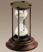 Australia Bronzed 30 Minute Hourglass