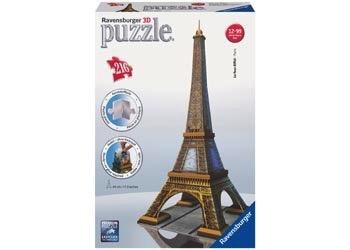 Australia Ravensburger - Eiffel Tower 3D Puzzle 216pc