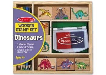 Australia M&D - Dinosaur Stamp Set