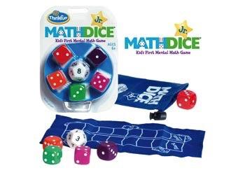 Australia ThinkFun - Math Dice Jr. Game