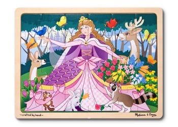Australia M&D - Woodland Princess Jigsaw - 24pc