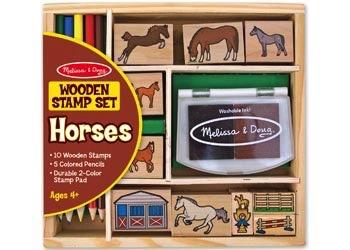 Australia M&D - Horses Stamp Set