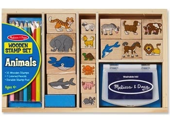 Australia M&D - Animal Stamp Set