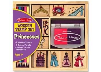 Australia M&D - Wooden Princess Stamp Set