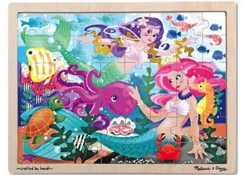 Australia M&D - Mermaid Fantasea Jigsaw - 48pc