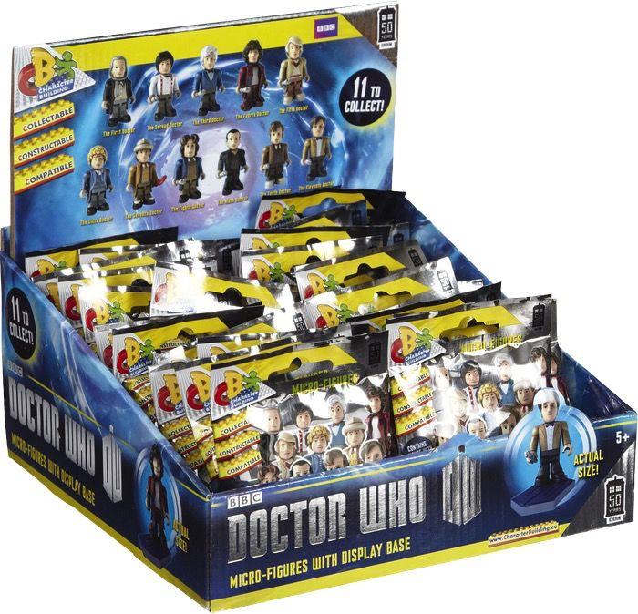 Australia Dr Who - Character Building 11 Doctors Blind Bag