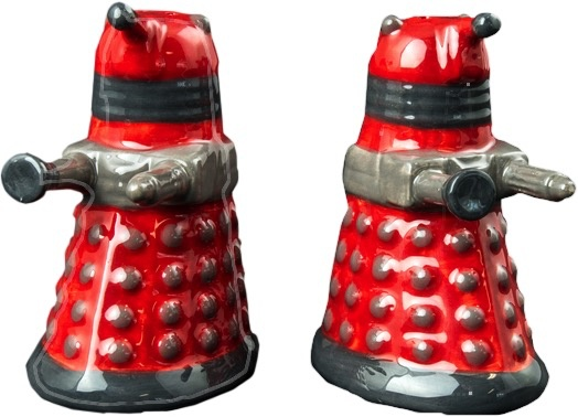 Australia Dr Who - Dalek Salt & Pepper Shaker Set
