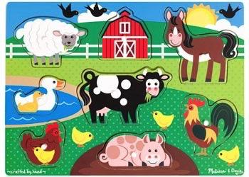 Australia M&D - Farm Peg Puzzle