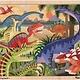Australia M&D - Dinosaurs Jigsaw - 24pc