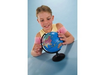 Australia Edu-Toys - Desk Swivel Globe - 13cm