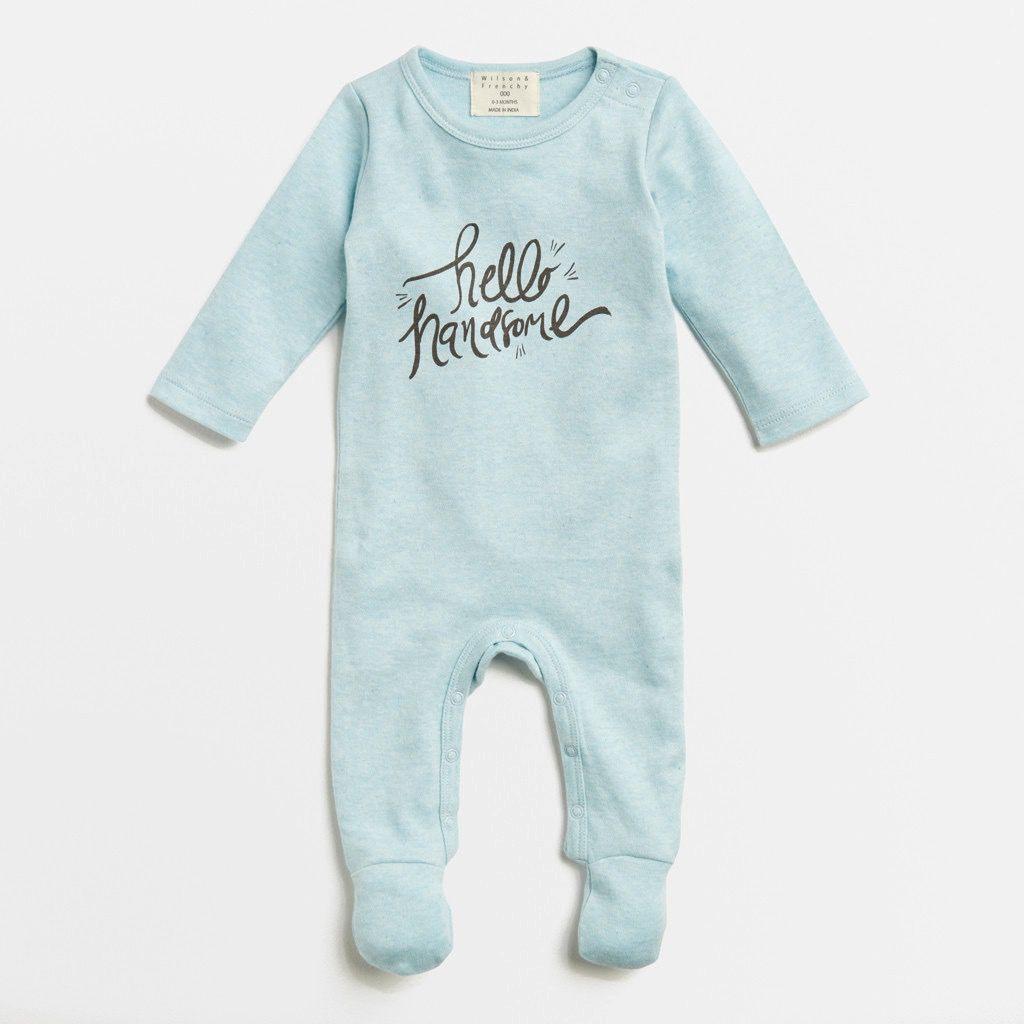 Australia Hello Handsome Growsuit - newborn