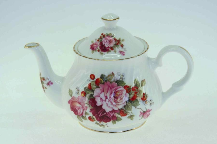 Australia Strawberry Rose 2 Cup Teapot